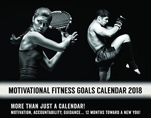 Motivational Fitness Goals Calendar 2018