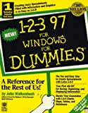 1-2-3 97 for Windows for Dummies, John Walkenbach and IDG Books Staff, 1568846487