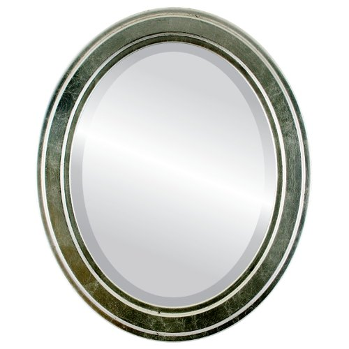 Oval Beveled Wall Mirror for Home Decor - Wright