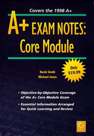 A+ Exam Notes: Core Module