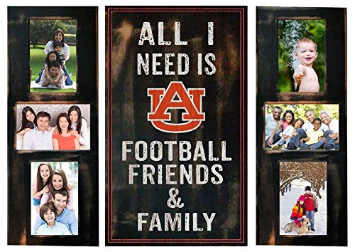 Auburn University Tigers Picture Frame Set All I Need 3pc (Auburn Tigers Photo Plaque)