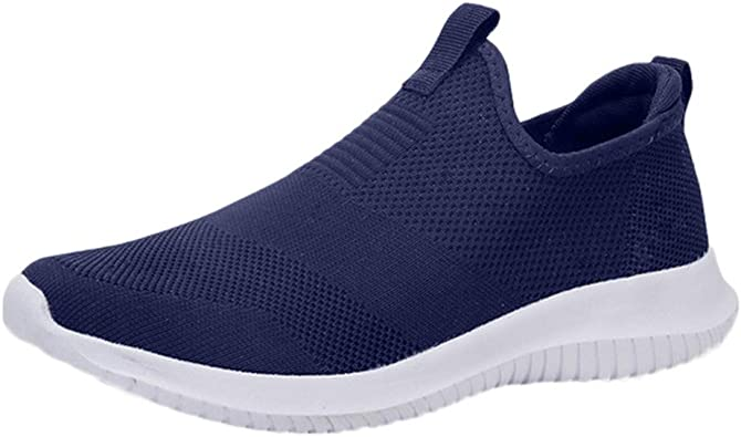 Calzado Deportivo para Hombres,ZARLLE Zapatillas de Deporte Hombres sin Cordones Running Zapatos Gimnasia Entrenamiento Sneakers Transpirables Sport: Amazon.es: Zapatos y complementos