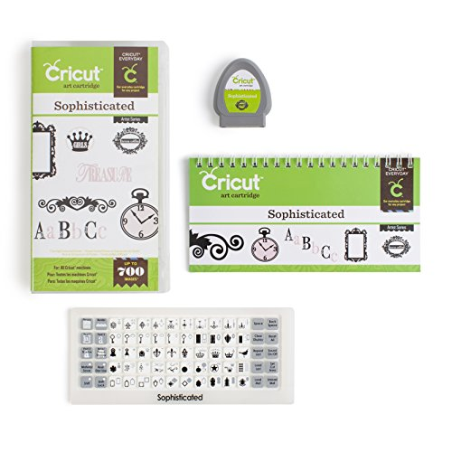 Cricut 2001120 Shape Cartridge, Sophisticated