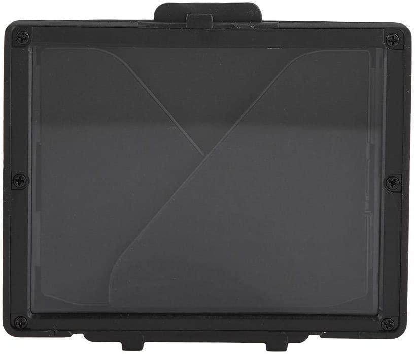 Oumij Camera LCD Monitor Screen Folding Hood Sunshade Protective Cover for Nikon D7500 Stages Collapsible Rubber Lens Hood