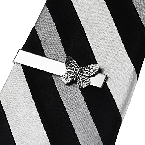 Quality Handcrafts Guaranteed Butterfly Tie Clip