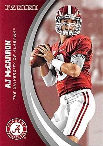 AJ McCarron football card (Alabama Crimson Tide) 2015 Panini Team Collection #57