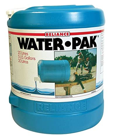 Reliance Products Water-Pak 5 Gallon Barrel Shaped Water Container