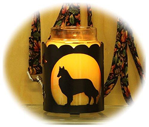 PupLife Belgian Malinois Dog Breed Jar Candle Holder
