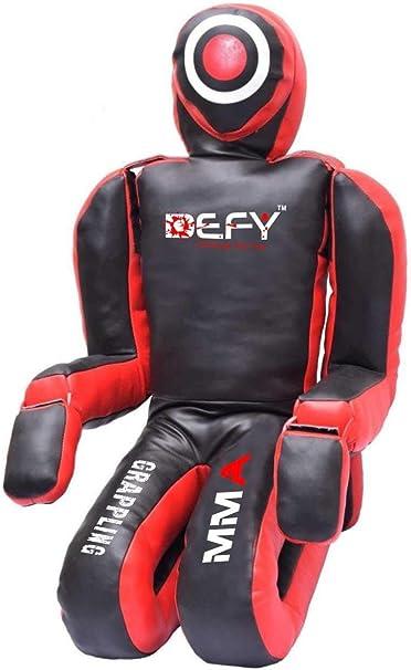 BJJ MMA Grappling Kneeling Dummy Artificial Leather MMA Dummy 6 FOOT