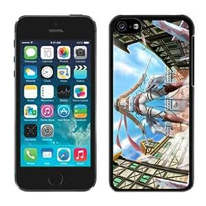 Customized and Fashionable Shingeki no Kyojin 2 Black iPhone 5c Case