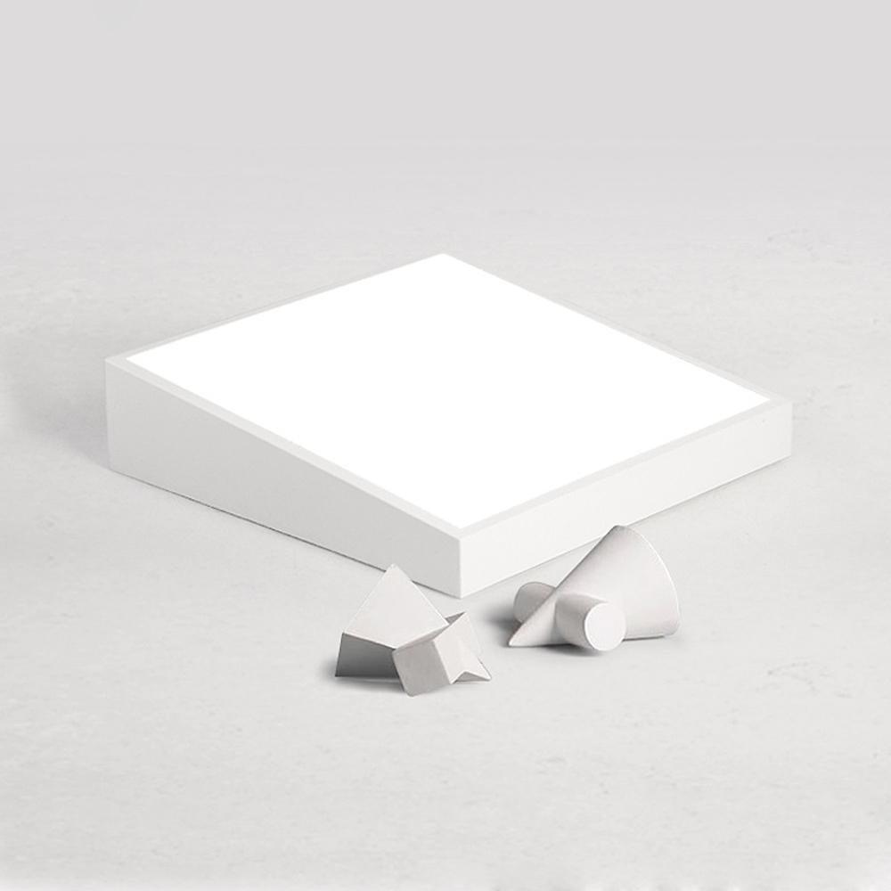 Intelligente stufenlos Dimmen LED Flush Mount Pers?nlichkeit minimalistisch Deckenleuchte, f¨¹r Wohnzimmer Schlafzimmer Arbeitszimmer etc. , 60*60*12cm white