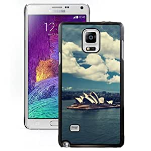 New Beautiful Custom Designed Cover Case For Samsung Galaxy Note 4 N910A N910T N910P N910V N910R4 With Sydney Opera House Phone Case