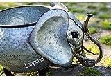 Lanperle Decorative Galvanized-Metal Elephant