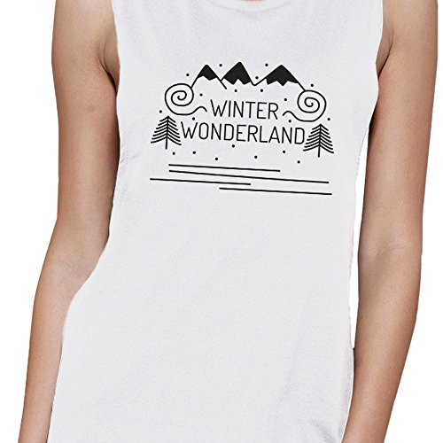 Wonderland Sweater donne delle Print invernale 365 Sleeveless Women One qPBxE6wX