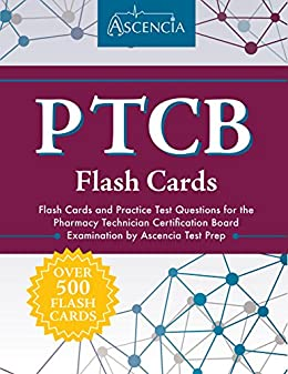 Amazon ptcb flash cards flash cards and practice test ptcb flash cards flash cards and practice test questions for the pharmacy technician certification board fandeluxe Gallery