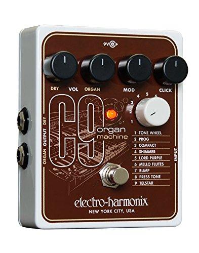 Electro-Harmonix C9 Organ Machine Pedal w/Bonus Dunlop DTC1