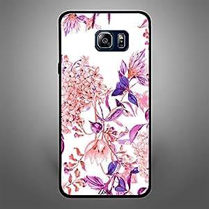 Samsung Galaxy Note 5 Pink purple flower pattern