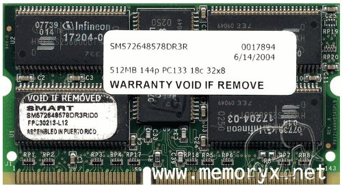 - 512MB Cisco 12000 Line Card 4 Route Processing Approved Memory (p/n MEM-LC4-512)