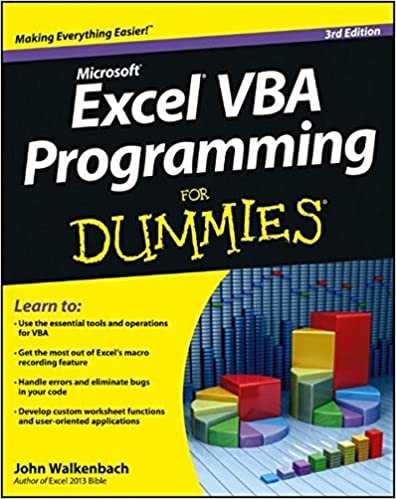 Excel VBA Programming For Dummies: John Walkenbach