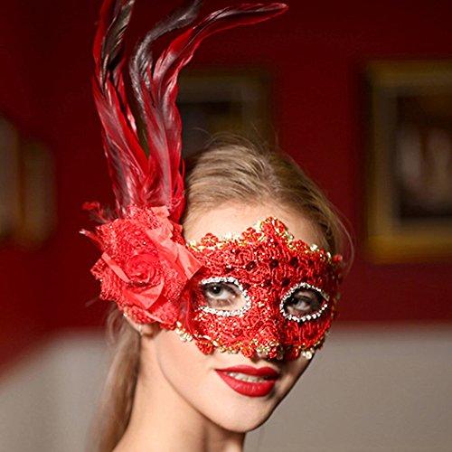 KAKA(TM) Mask Child Costume Cosplay Ball Dancing Party [Halloween] Princess Masks Facial Masquerade - ()