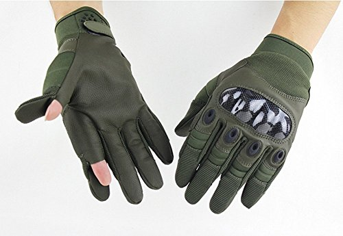 Weizhe Fashion Outdoor Tactics Training Riding Sports Fitness Protective Full Finger Gloves
