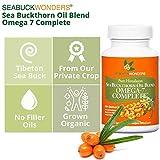 Sea Buckthorn Oil Blend, Omega-7 Complete, 120