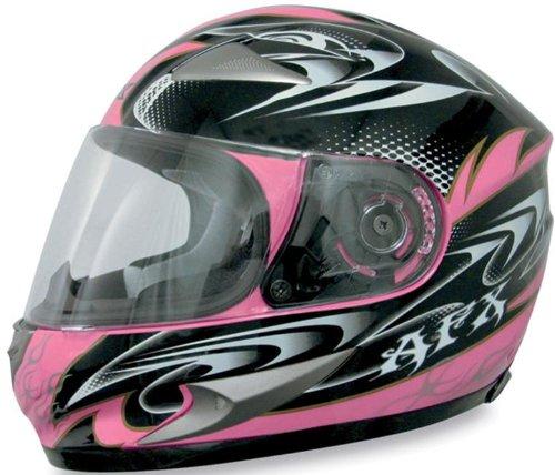 AFX FX-90 W-Dare Helmet , Size: XS, Primary Color: Pink, Distinct Name: Pink W-Dare, Helmet Type: Full-face Helmets, Helmet Category: Street, Gender: Mens/Unisex 0101-5784