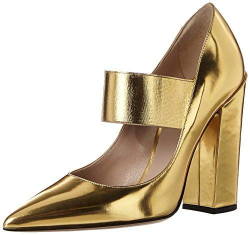 col Scarpe Oro S7501 elo Gold Donna Tacco Speoro Chiusa Punta Sebastian E1HaqWq