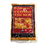 Crawfish Tail Meat, Frozen - 1 Lb (Pack of 5)