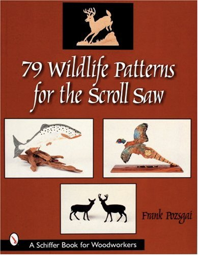 40 Wildlife Patterns For The Scroll Saw Schiffer Book For New Scroll Saw Pattern Books
