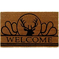 Geo Crafts G443 PVC Moose Entry Way Doormat