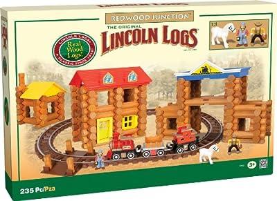 Lincoln Logs®, Redwood Junction Wooden Set - Item #00863