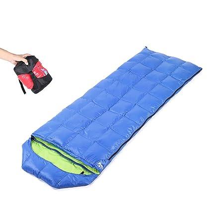 CXJC Saco De Dormir Forma De Sobre 205 * 73cm 3-4 Estaciones Impermeable Ultraligero
