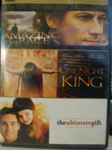 Three Feature Films: Amazing Grace, One Night with the King, The Ultimate Gift ()