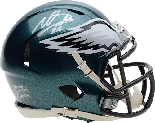 Miles Sanders Philadelphia Eagles Autographed Riddell Speed Mini Helmet - Fanatics Authentic Certified