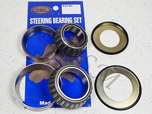 (01-15 HONDA GL1800 NEW K&L STEERING STEM SHAFT RACE & BEARING KIT)