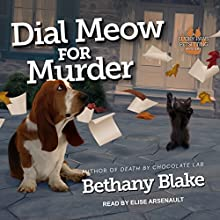 Dial Meow for Murder: Lucky Paws Petsitting Mystery Series, Book 2 Audiobook by Bethany Blake Narrated by Elise Arsenault