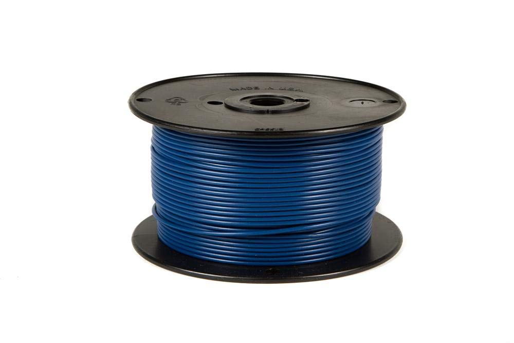 Black 500/' Wirthco 80022 Plastic Primary Wire Single Conductor 500 16 Gauge