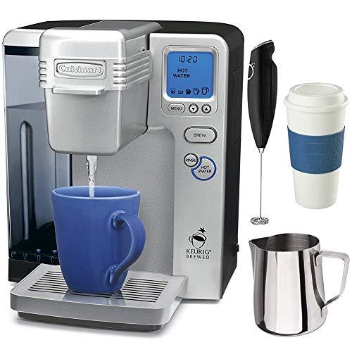 (Cuisinart SS-700 Single Serve Keurig Brewing System (Renewed) with Premium Coffee Bundle)
