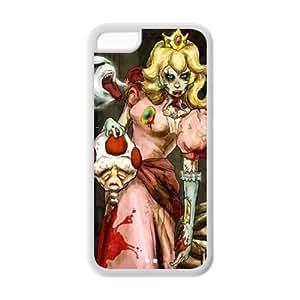 XiFu*MeiCyber Monday Store Customize Cartoon Zombie Princess Back Case for iphone5C JN5C-1399XiFu*Mei