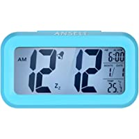 Anself LED Digital Alarma Despertador Reloj Repetición activada