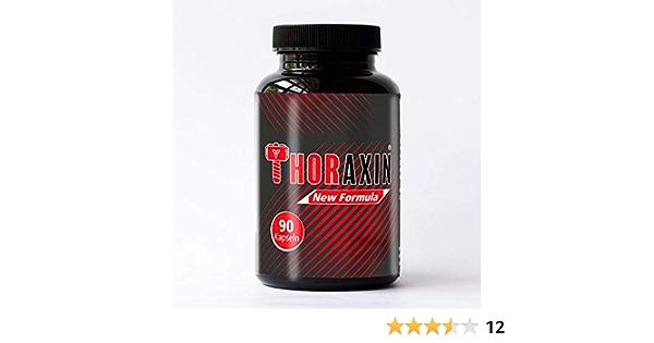 THORAXIN cápsulas de crecimiento muscular | L-Arginina Zink BCAA aminoácidos | Energía PARA HOMBRES Y MUJERES | entrenamiento + rendimiento explosivo ...