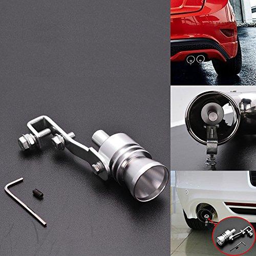 Euro Style Turbo Sound Whistle Muffler Exhaust Pipe Valve BOV