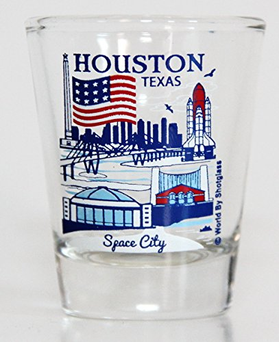 Houston Texas Great American Cities Collection Shot - Glasses Houston Great
