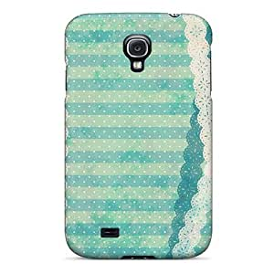Cute High Quality Galaxy S4 Lace Bow Wave Point Case