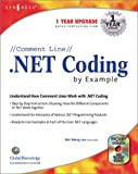 //Comment Lin// .NET Coding by Example, Wei Meng Lee, 1928994725