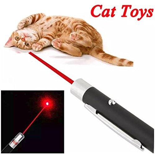 TBH Brands Cat Toys Interactive Wand LED Light Pointer for Catch Teasing Scratching Training Cats