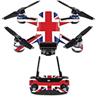 Skin for DJI Spark Mini Drone Combo - British Pride| MightySkins Protective, Durable, and Unique Vinyl Decal wrap cover | Easy To Apply, Remove, and Change Styles | Made in the USA