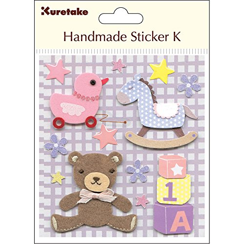 KURETAKE HANDMADE STICKER K BABY BOY TOYS SBST300-2 (Japan Import) (baby girl toy)