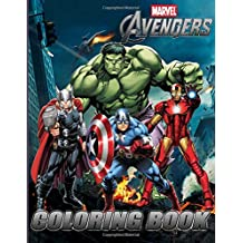 MARVEL AVENGERS Coloring Book: Exclusive Work (33 illustrations), Coloring Pages for adults and kids, for big fans of marvel, SUPER HEROES, Thor, Captain America, the Hulk, Iron Man, Black Panther, Black Widow, Spider Man, Loki, Ant-man, Guardians of the Galaxy and others.